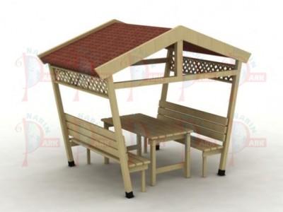 Piknik Masası Çatılı NP 458
